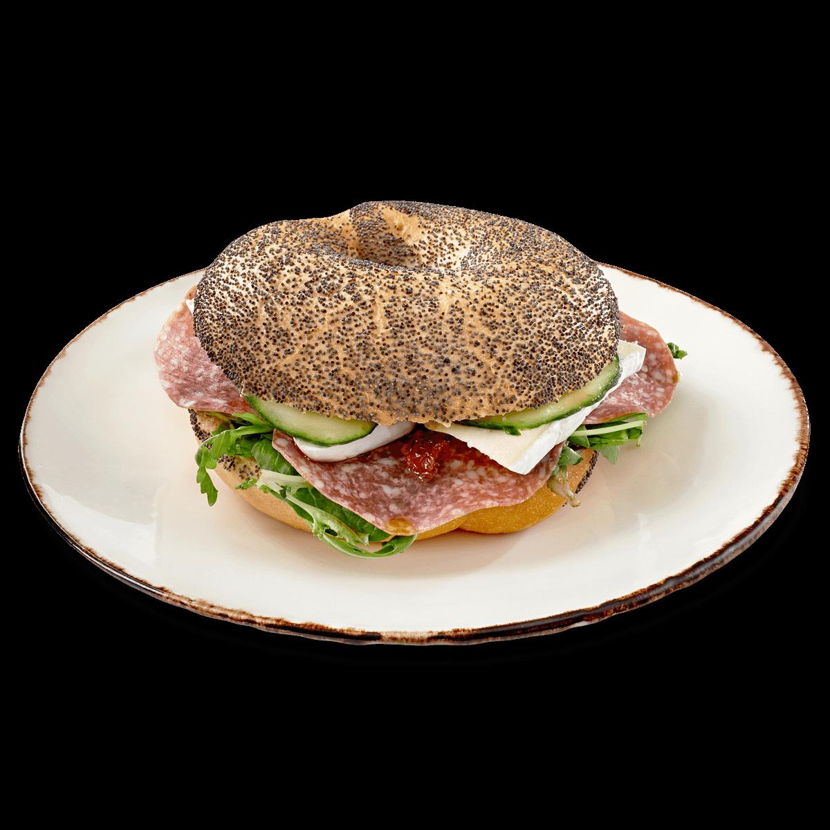 smorgasar-bagel-salami-brie