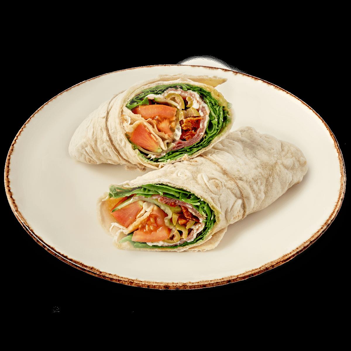 smorgasar-lufttorkad-skinka-mozzarella-wrap